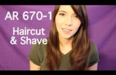 Mens Haircut and Shave Roleplay