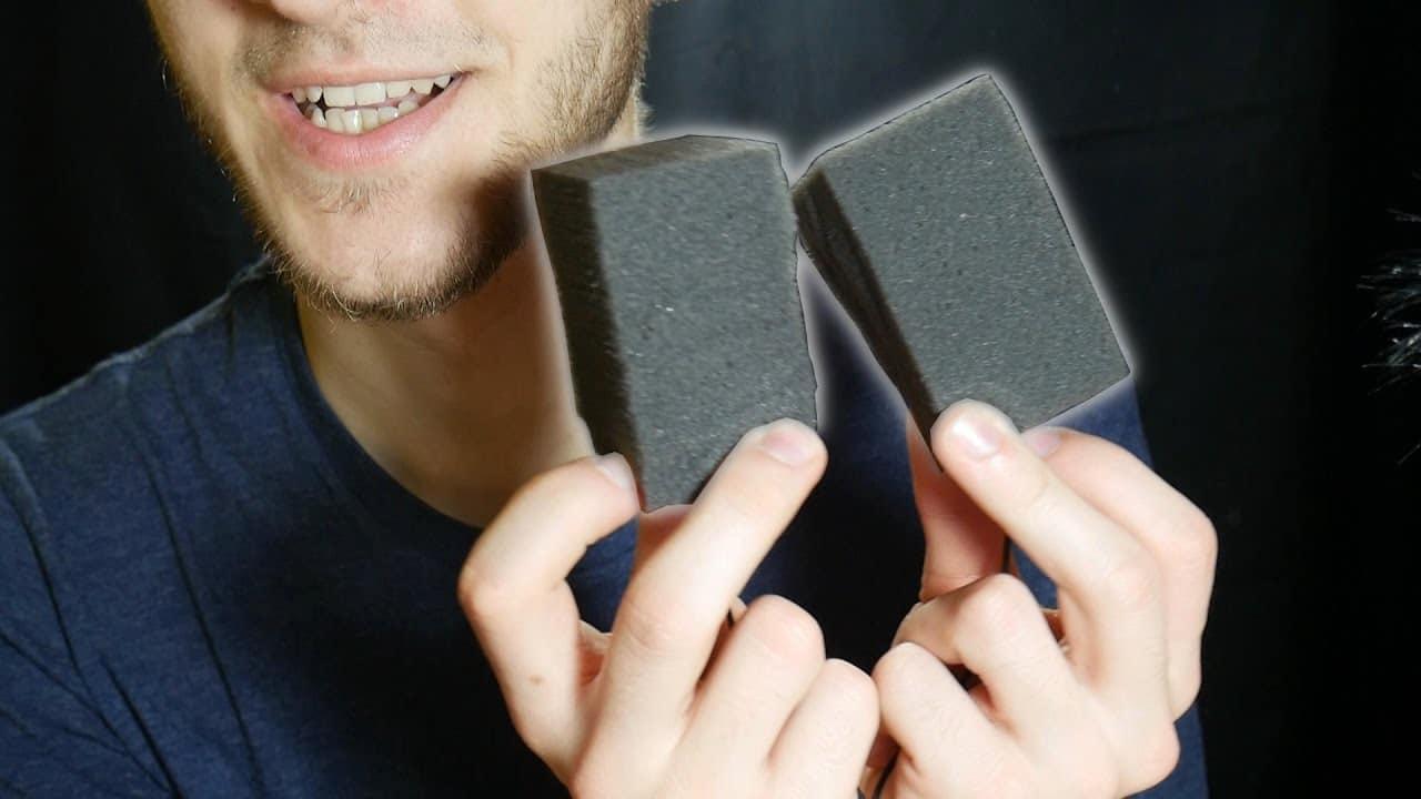 Foam Blocks, Tapping, Scratching, Brushing