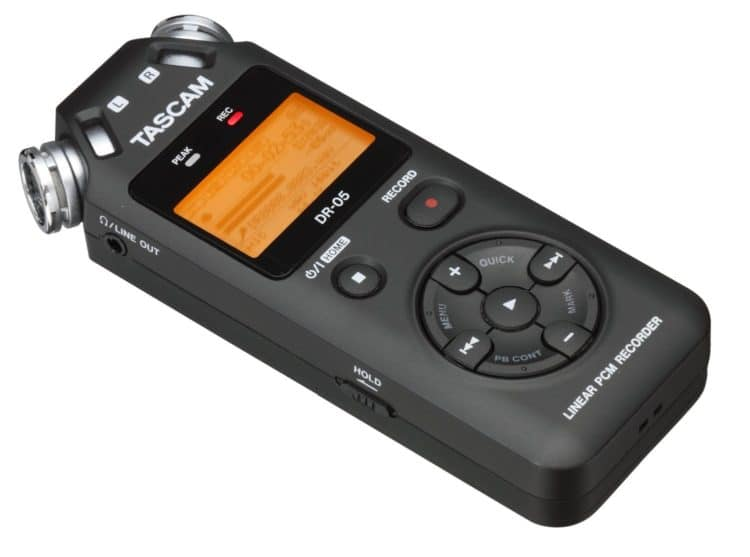 Tascam DR-05 Microphone - The ASMR