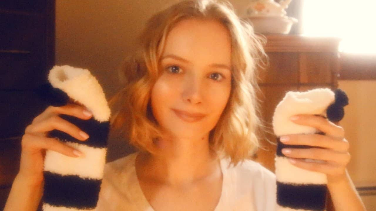 Trying On Socks