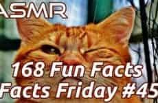 ASMR Fun Facts Ear To Ear Whispering