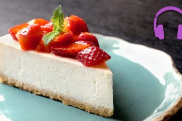 Cooking Sounds No-Bake Cheesecake